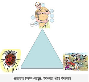diseases triangle